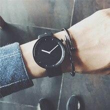 Minimalist stylish men quartz watches drop shipping 2018 new
