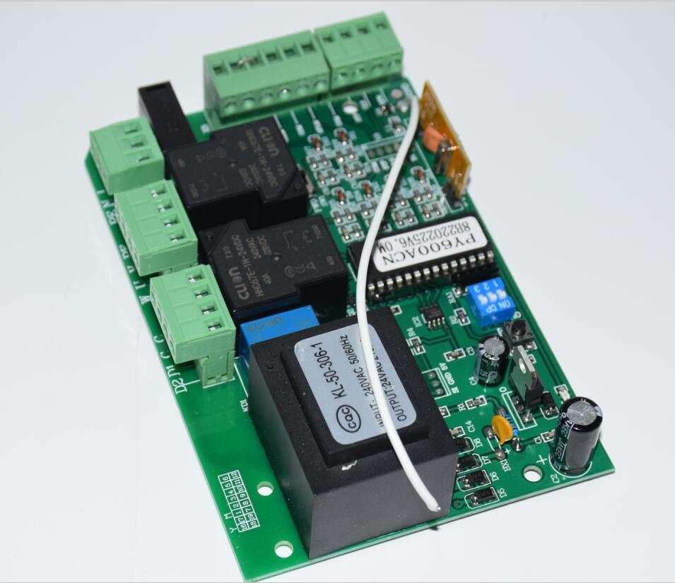 Sliding Gate Opener Ac Motor Control Unit Pcb Controller Board Image Circuit Panel Electronic Card Py600ac Sl600 Sl1500 Py800 Model Gallery
