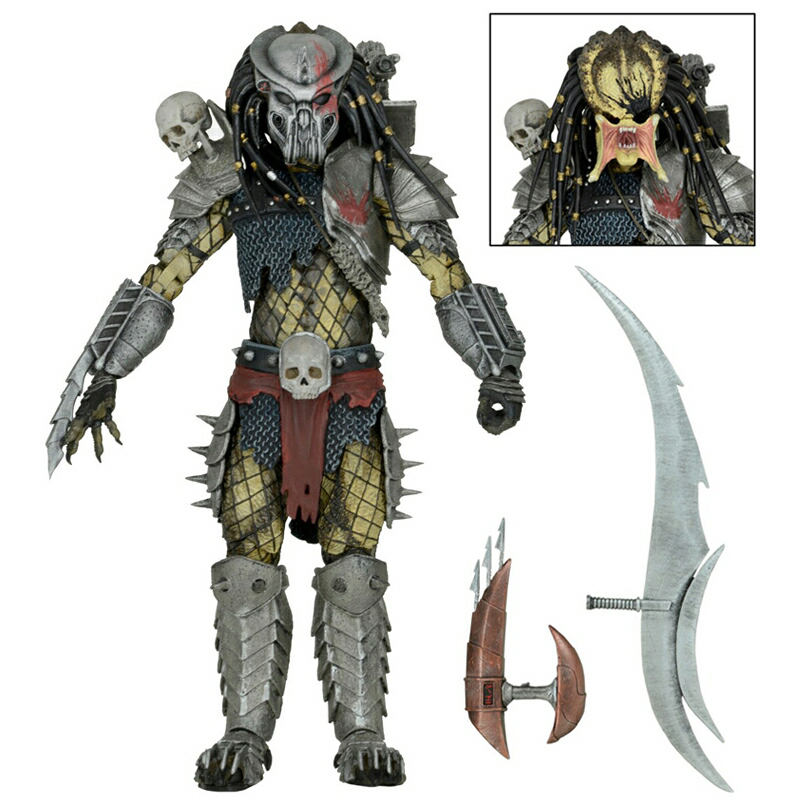 NECA Movie AVP Aliens vs Predator Figure Series Alien Concrete Jungle Hunter Predator PVC Action Figure Model Toy Doll Gift светильник 369862 grape novotech 927289