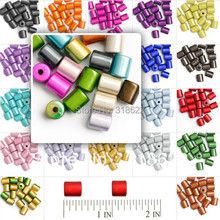 8*10mm Assorted Color 3D illusion Miracle Beads,DIY Jeweller
