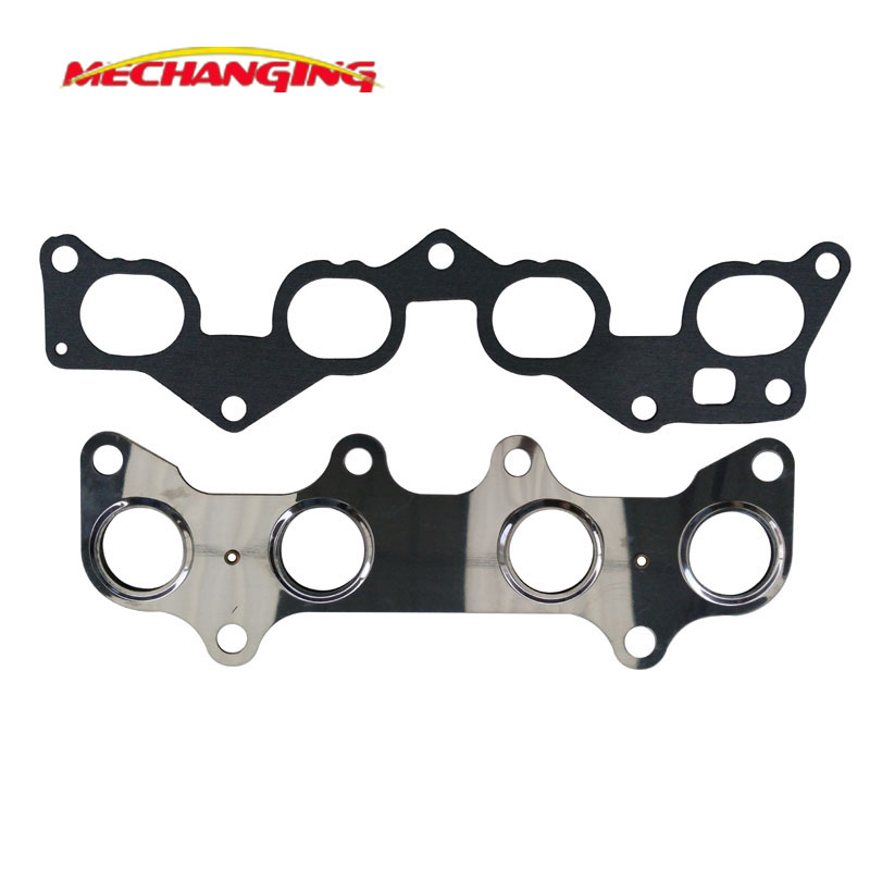 4efe 4e fe for toyota corolla intake exhaust manifold auto parts engine rebuilding kits engine parts engine gasket 17177 11020