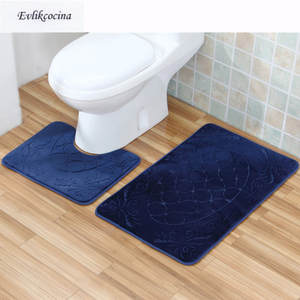 Best Bath And Toilet Mat Blue List