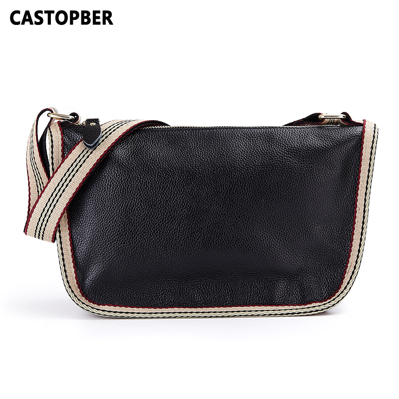 Designer Fashion Women Messenger Bags Genuine Leather Handbag Full Grain Leather First Layer Cowhide Shoulder Bag High Quality fashion women bags 100% first layer of cowhide genuine leather women bag messenger crossbody shoulder handbags tote high quality