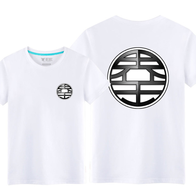 100% Cotton Kids/Adult Summer Anime Dragon Ball Z T Shirt Male/Mens Casual Crossfit Fitness T-shirt Saiyan Goku T shirts XXS-5XL