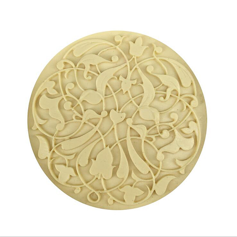 3D Round Flower Silicone Soap Mold DIY Soap Molds Tool Chocolate Cake Design Mould Party Home Decor Handmade Crafts
