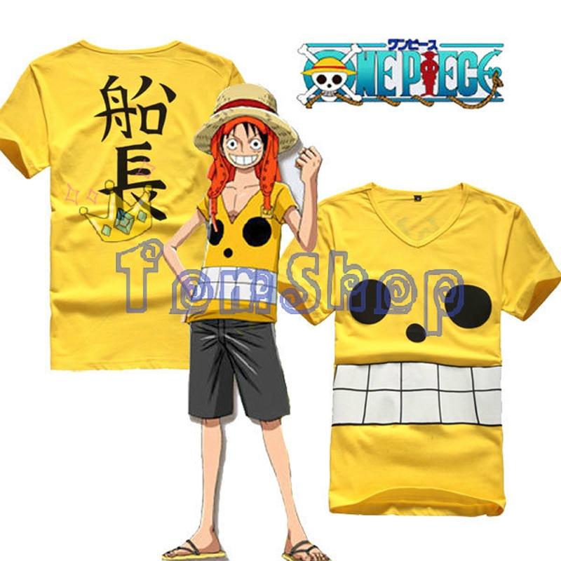 buy anime one piece film z monkey d luffy captain cosplay costume men women t. Black Bedroom Furniture Sets. Home Design Ideas