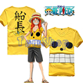 Anime One Piece Film Z Monkey D Luffy Captain Cosplay Costume Men Women T-shirt Summer Casual Tops Tee Shirts Free Shipping