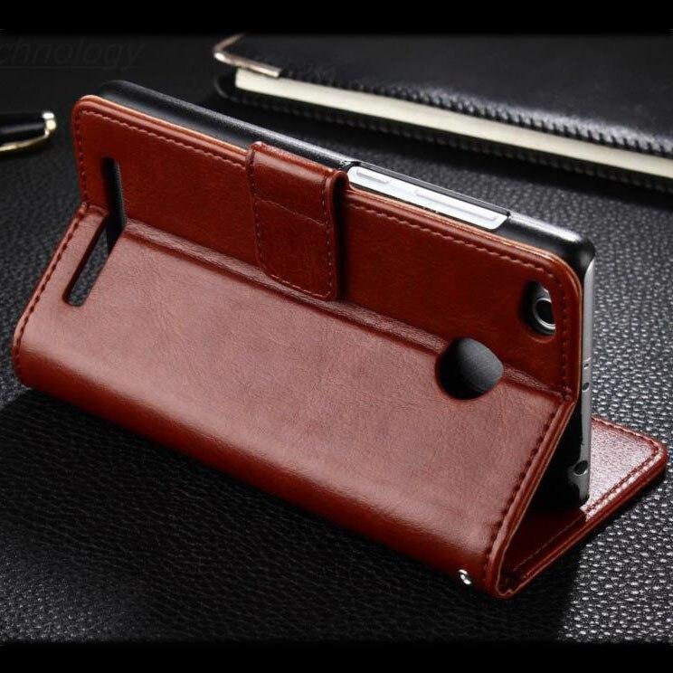 Xiaomi redmi note 5a Pro väska täcka 5 en läder Crazy häst fodral - Reservdelar och tillbehör för mobiltelefoner - Foto 4