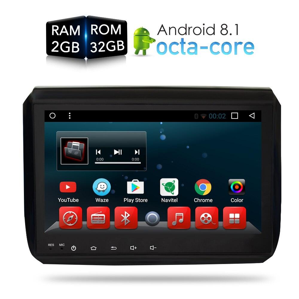 Andoird 8.1 8.0 reprodutor de dvd do carro gps glonass navegação multimídia para peugeot 208 2008 2014 2015 2016 rádio áudio e vídeo estéreo