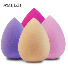 AMEIZII 1Pcs Soft Water Drop Shape Makeup Foundation Cosmetic Puff  Powder Smooth Beauty Sponge Clean Tool Acc