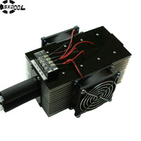 Free Shipping The DIY Electronic Peltier Module Refrigerator DC Chiller CPU Auxiliary Water Cooled 240W Super