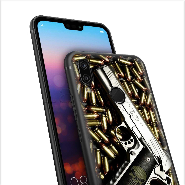 Lavaza Đẹp Vũ Khí Rifle Súng Bắn Tỉa súng đạn TPU Trường Hợp đối với Huawei Mate 10 P8 P9 P10 P20 Y7 Y9 lite Pro P Thông Minh 2017 2019