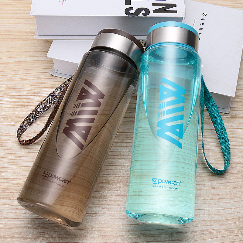 Outdoor Motion High Quality PP 304 Plastic High Capacity 1000ML Thermos Mug Cap Coffee Tea Food Bottle Swig Wine Cups Portable