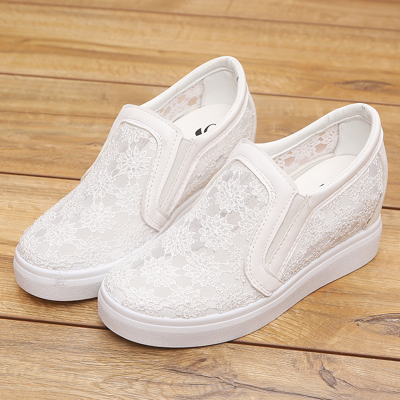 top Brand Female 2018 Summer Mesh, Breathable Anti-skid Body Leisure Shoes Fashionable Elegance Womens Shoes
