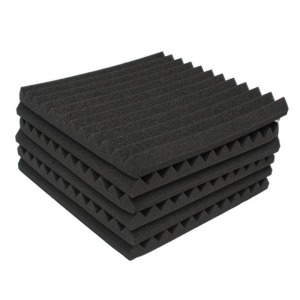 24 Pack Black foam Acoustic Pa