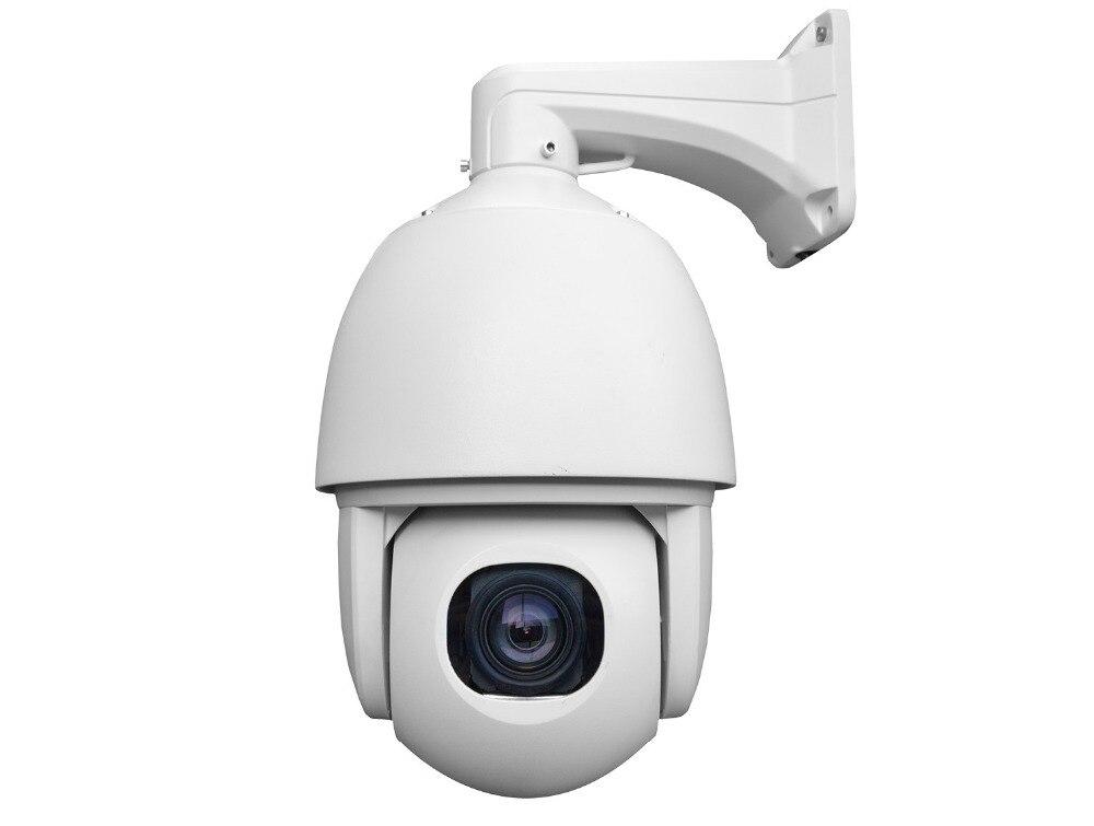 H 265 Starlight 2 Mega Pixel Full HD IP Network PTZ Camera High Speed Dome Camera