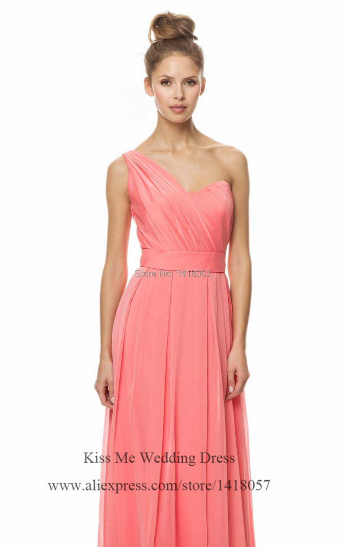 Asombroso Vestidos De Dama Melocotón Coral Ideas Ornamento ...