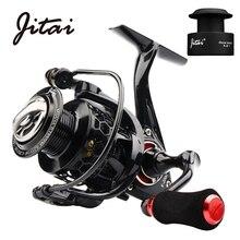 JITAI Spinning Reel with Free Spool Lightweight CNC Aluminum 10+1BBs Coil Saltwater Wheels Carp Fishing Reels Carretilha