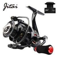 JITAI Spinning Reel with Free Spool Lightweight CNC Aluminum Spool 10+1BBs Coil Saltwater Wheels Carp Fishing Reels Carretilha