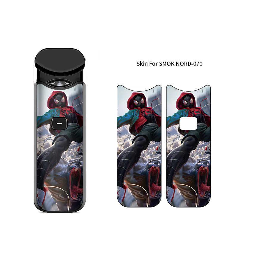 Demon Black Panther Spiderman Stlye обертка наклейка протектор кожи для SMOK Nord комплект Vape Pod