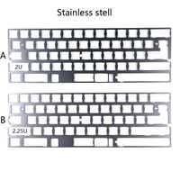 Satan GH60 PCB White Board LED DIY Mechanical Keyboard porker2 hhkb pure  with Diode Resistance gh60 plate keycaps kit