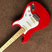 Chitarra elettrica Commercio All'ingrosso di new fen st custom shop chitarra elettrica/oem di marca di colore rosso chitarra/chitarra in cina