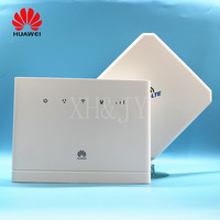 Unlocked New Huawei B315 Huawei 4G CEP Portable Wireless WIFI Router Huawei B315s 608 Lte Wifi Router with 4g antenna PK B310
