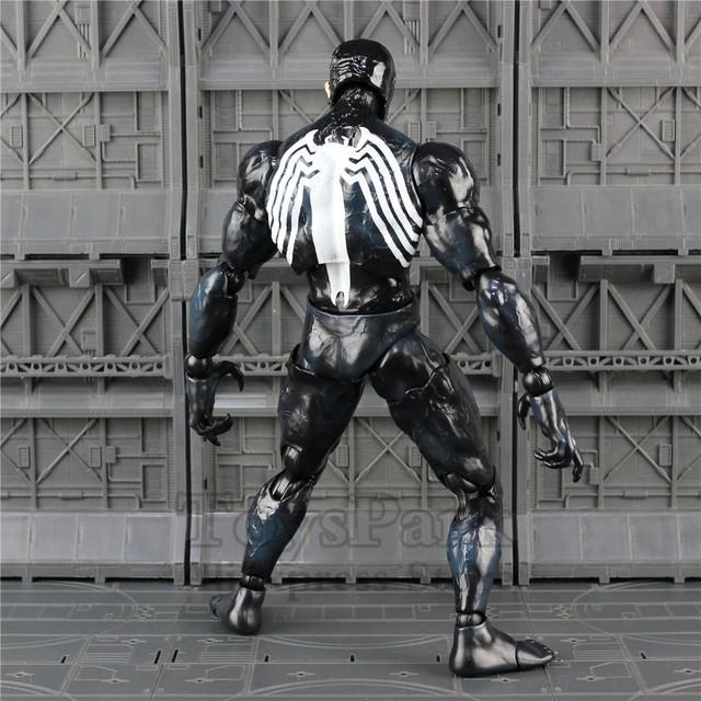 2018 Marvel 12″ Venom Action Figure Hot Tom Hardy Edward Brock 1/6 1:6 26cm HC Toys Doll Movie Collectible Spider man Legends