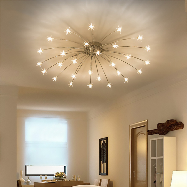 Modern round starry sky led crystal glass ceiling lights 152128 modern round starry sky led crystal glass ceiling lights 152128 heads stars aloadofball Image collections