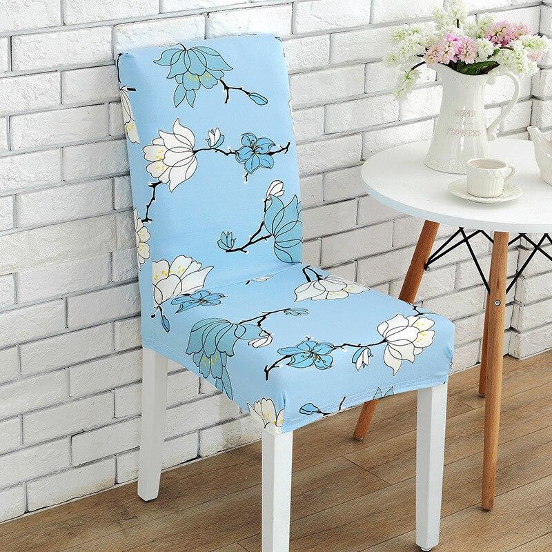 Эластичный обеденный стул cover короткие стульев моющиеся протектор сиденье Чехол для свадьбы ресторан, банкетный Home Decor