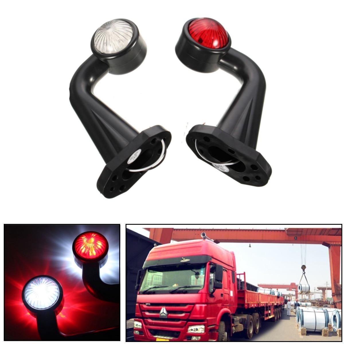 2шт 12 светодиодов 12В 24В локтевого габаритный свет лампы Индикатор Е для прицепа грузовика