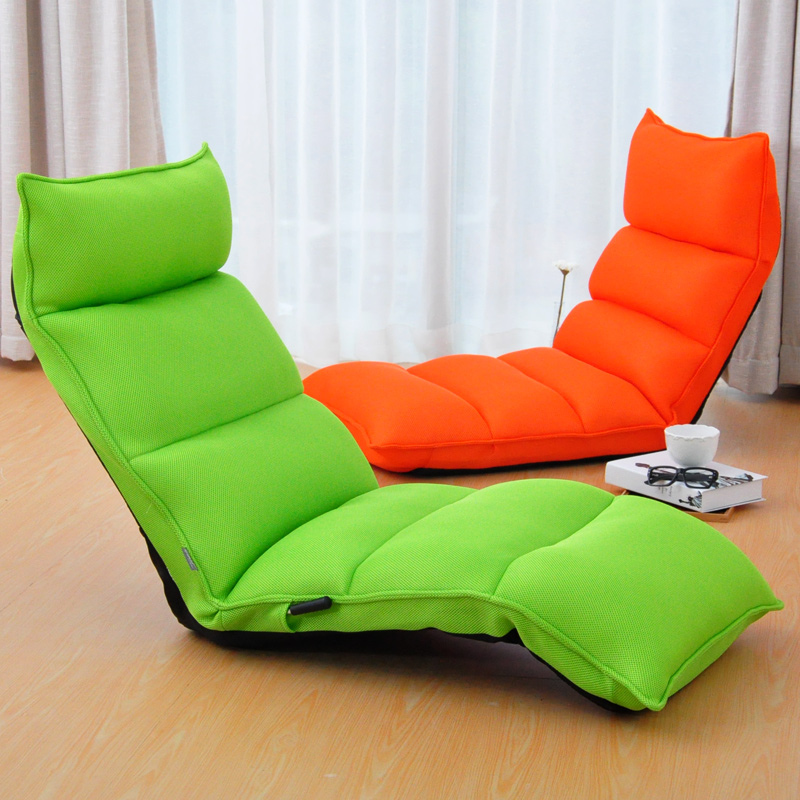 Lounge Chair Living Room Day Bed SleeperJapanese Style Floor Foldable Sofa Bed Upholstered Chaise Lounge Indoor Furniture relax sofa chair living room furniture floor adjustable sofa chair reclining chaise lounge modern fashion leisure recliner chair