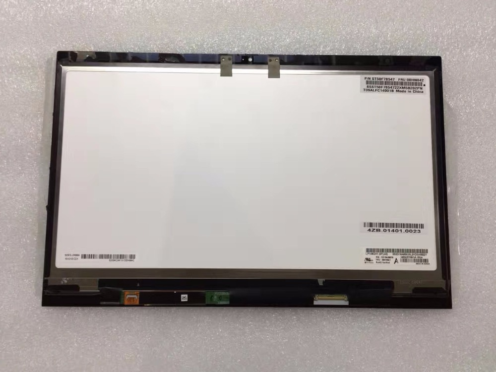 For Lenovo Thinkpad X1 carbon LP140QH1 SP A2 LCD Display Matrix Touch Screen Digitizer Sensor Tablet PC Parts Assembly 14 inch lcd display touch screen for lenovo thinkpad x1 carbon lcd screen touch digitizer assembly lp140qh1 sp a2 display lcd