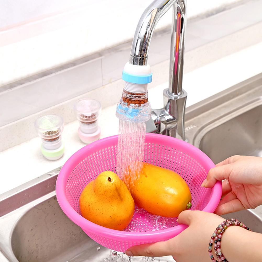 Kitchen Taps with Water Filter Adaptador Grifo Cocina Universal Difusor Grifo Cocina con Abrazadera con filtro Grifo Giratorio de 360 Grados Para Grifo con Cabezal de Ahorro de Agua