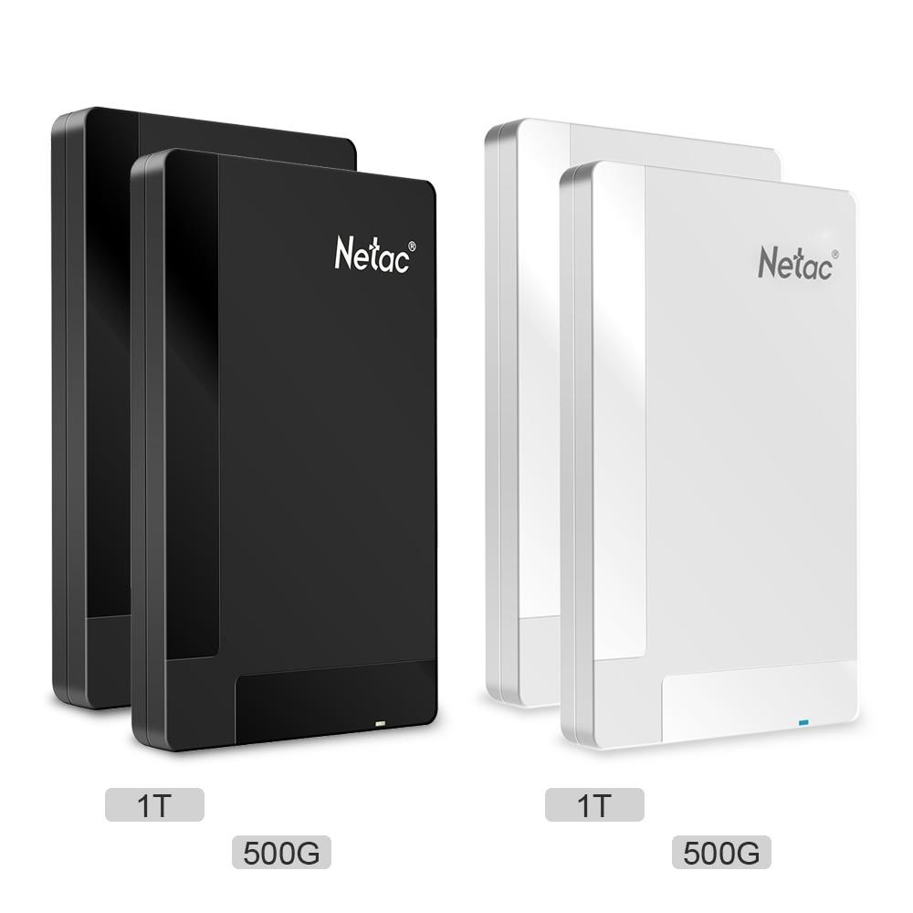 Externe Festplatten Netac K218 500g 1 Tb Usb 3.0 2,5 portable Hdd Mobile Externe Festplatte Usb-schnittstelle Für Desktop Laptop Pc Seite Lagerung Stabile Konstruktion