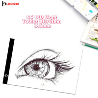 A4 LED Light Tablet Pad Dimmable Ultra Thin Diamond Embroidery Stencil Drawing Board Light Diamond Painting