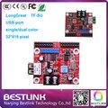 Оптовая Longgreat TF-SU платы управления single/двойной светодиодный контроллер карты 32*416 пикселей USB порт для p10 светодиодная вывеска