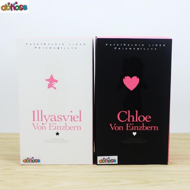 """""""Fate/kaleid"""" Illyasviel and Chloe von Einzbern Action Figure"""