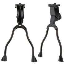 Cycling Bicycle Parts 26 inch Bike Stand Bicycle Mountain bike Kickstand Stable Iron Double Leg Mount Stand Bike Kickstand(China)
