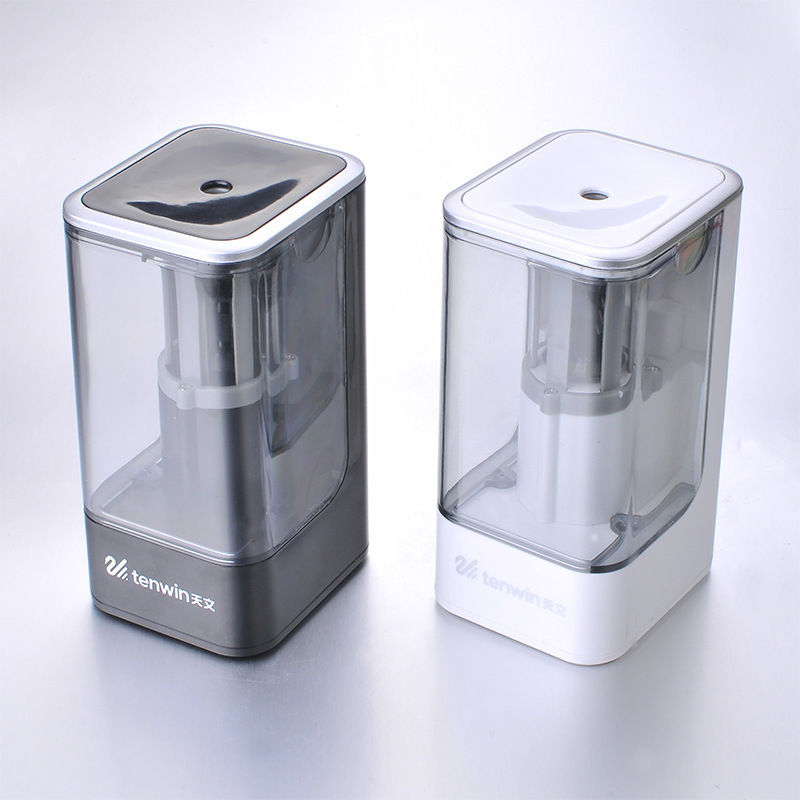 Image 2 - High Quality Electric Pencil Sharpener Automatic Student Electronic Sharpeners Tools Gifts Stationery  School Office Supplies-in Pencil Sharpeners from Office & School Supplies