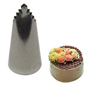 Image 4 - 3pcs Leaves Nozzle Icing Piping Nozzles Pastry Icing Piping Cupcake Writing Tube Decorating Tip Baking & Pastry Tools Bakeware