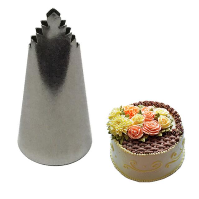 3pcs Leaves Nozzle Icing Piping Nozzles Pastry Icing Piping Cupcake Writing Tube Decorating Tip Baking & Pastry Tools Bakeware