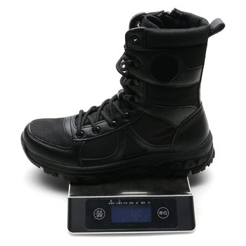 Brand Men's Boots Military boot Tactical Big Size Army Bot Male Shoes Safety Combat Mens Chukka Ankle Bot Motocycle Boots 507