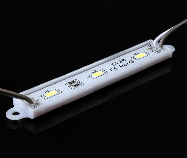 200pcs/lot b DHL 5730 3 led module ,40lm/led IP65 led billboard light,led backlight White LPM-3*5730-IP65-W