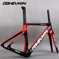 NEW OG-EVKIN carbon Bicycle road frame Di2 Mechanical racing bike carbon road frame 2018 road bike fork+seatpost+headset 4