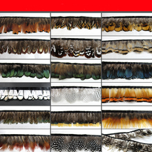 50cm/lot diy feathers Ornaments Feathers cloth strips edges belts Feather skirt Wedding clothing accessories AC064