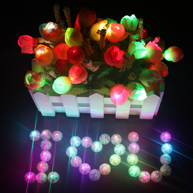 wholesale 10000 pcslot round ball balloon lights mini led flash lamps for balloon lantern