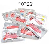 10 unids/set duradero uso no tóxico de silicona líquida a prueba de calor Reparación de barro DIY Universal colorido pegamento Reparación de barro