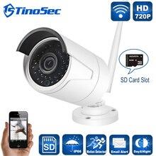 Беспроводной 720 P Ip-камера Металла Открытый Водонепроницаемый 1.0mp Wifi Камеры ИК Nignt Видение 1280*720 P с TF Слот Для Карты CCTV камера
