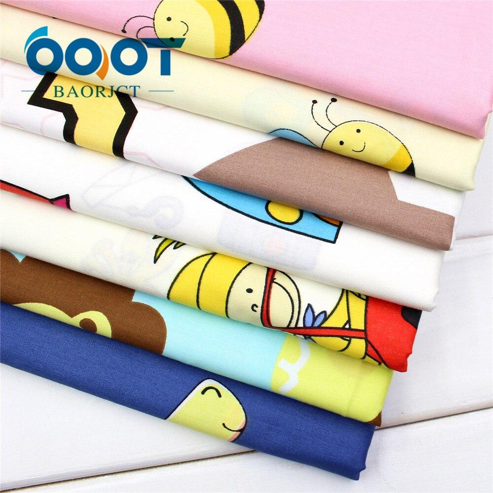OOOT BAORJCT, 173133 6 estilo elegir Serie de dibujos animados de tela de algodó